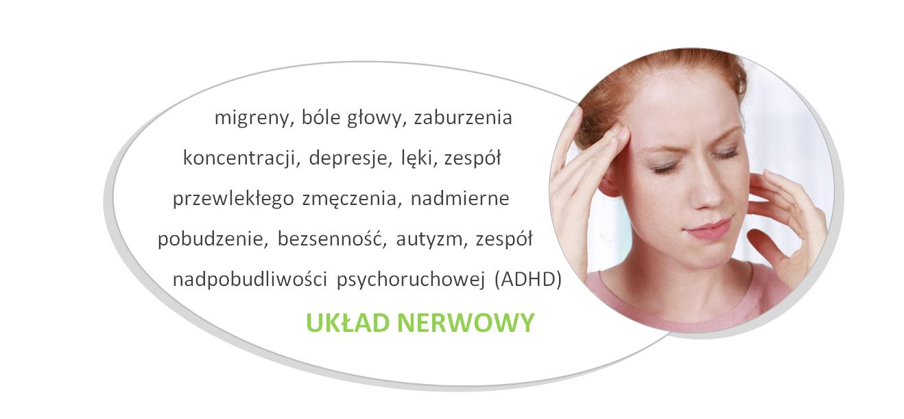 Nietolerancja pokarmowa a układ nerwowy
