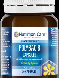 PolyBac8 30 kapsulek