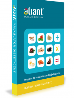 Aliant-kalkulator-dietetyczny-odnowienie-licencja-edukacyjna-dla-studentow